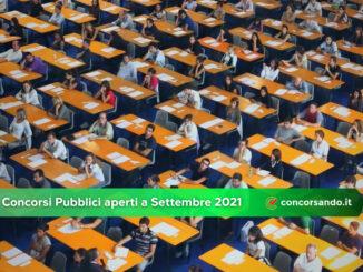Concorsi Pubblici aperti a Settembre