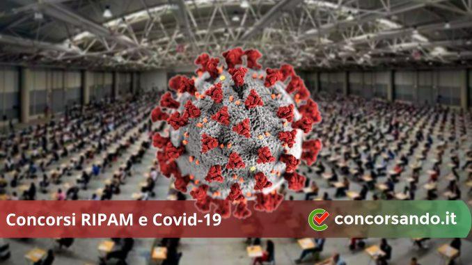 Concorsi RIPAM e Covid-19