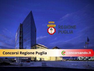 Concorsi Regione Puglia