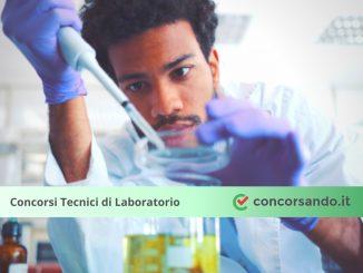 Concorso Tecnici di Laboratorio