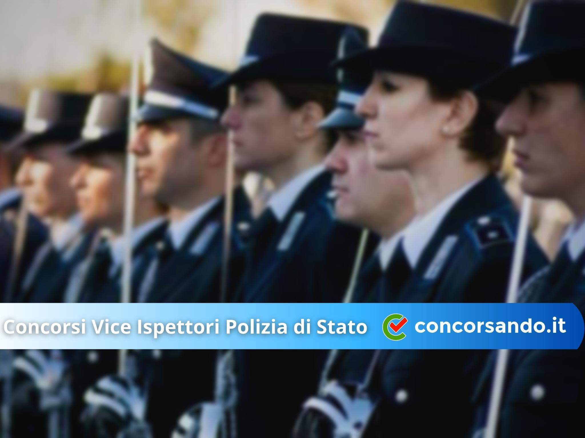 Concorsi Vice Ispettori Polizia di Stato