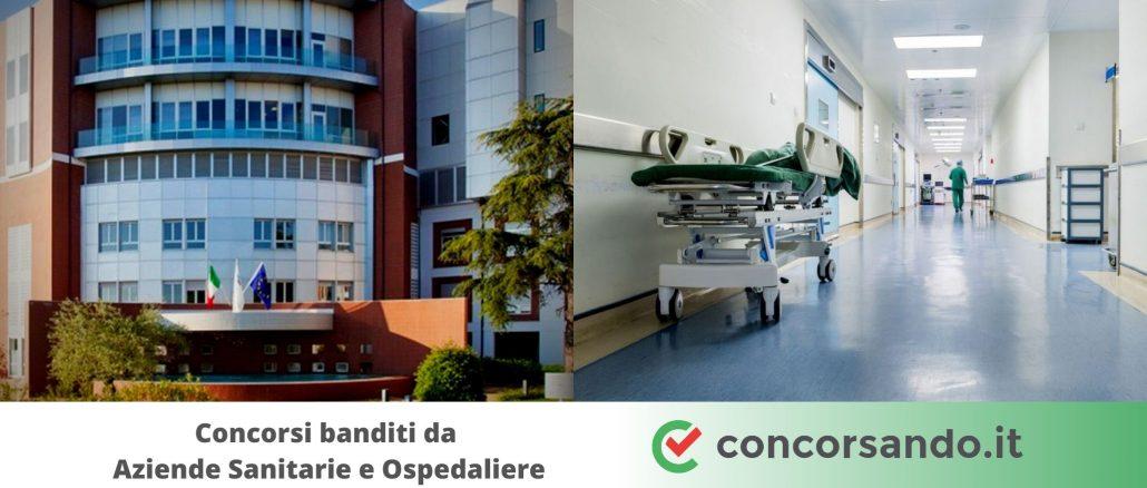 Concorsi banditi da Aziende Sanitarie e Ospedaliere