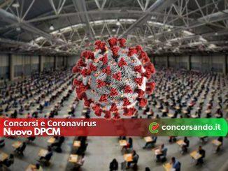 Concorsi e Coronavirus