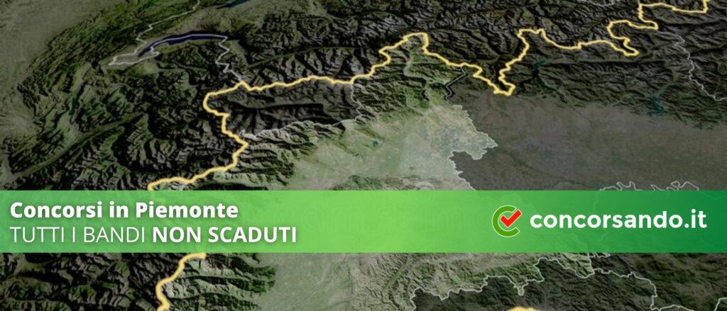 Concorsi in Piemonte