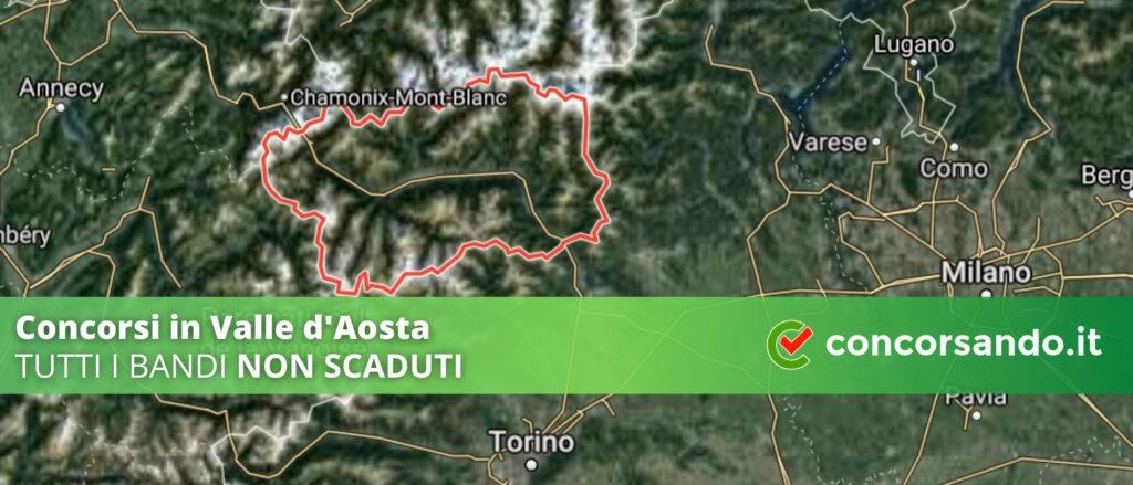 Concorsi in Valle d'Aosta