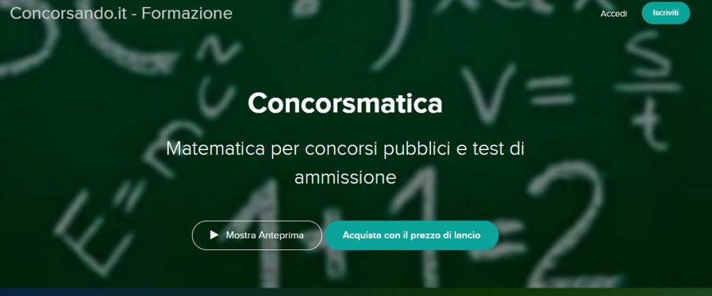 Concorsmatica