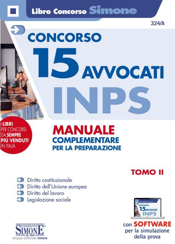 Concorso 15 Avvocati INPS – Manuale complementare per la preparazione – Tomo II