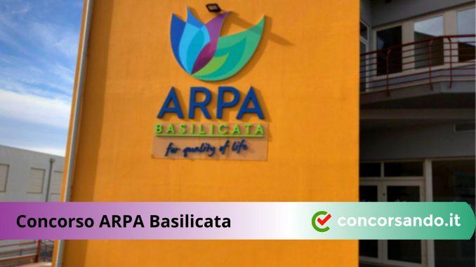 Concorso ARPA Basilicata