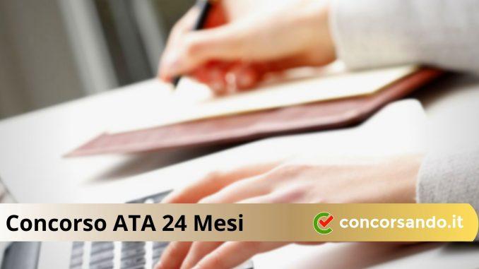 Concorso ATA 24 Mesi