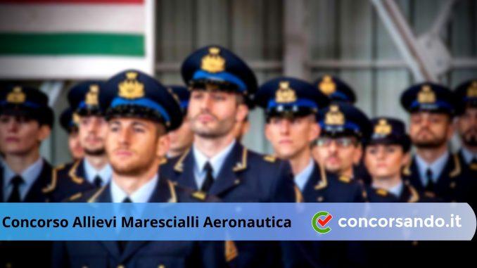 diventare Maresciallo dell'Aeronautica