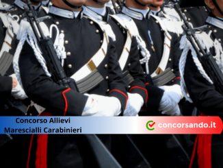 diventare Maresciallo dei Carabinieri