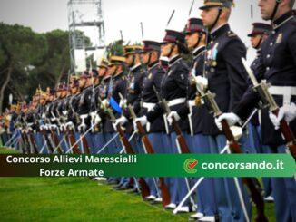 Concorso Allievi Marescialli Forze Armate