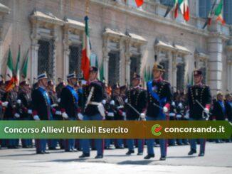 Concorso Allievi Ufficiali Esercito