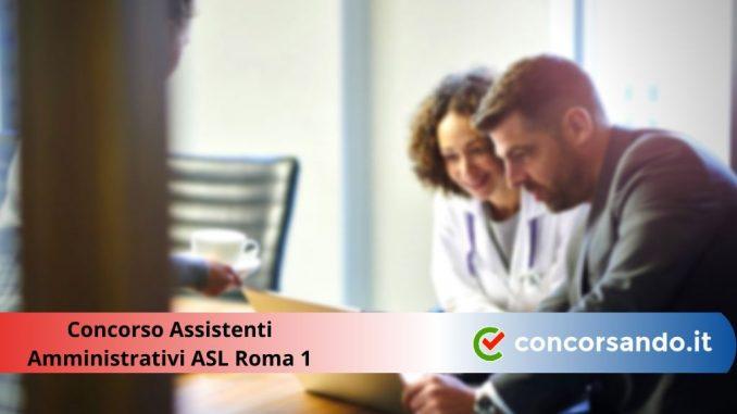 Concorso Assistenti Amministrativi ASL Roma 1