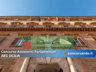Concorso Assistenti Parlamentari ARS Sicilia