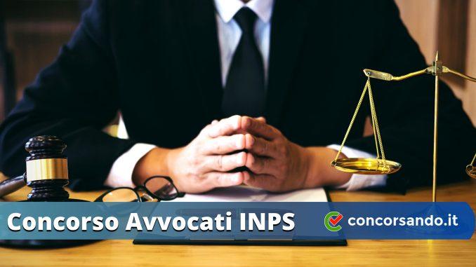 Concorso Avvocati INPS