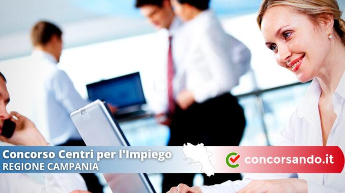 Concorso Centri Per L'Impiego Regione Campania