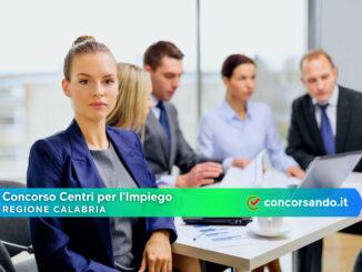 Concorso Centri per l'Impiego Regione Calabria