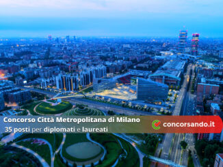 Concorso Città Metropolitana di Milano 35 posti