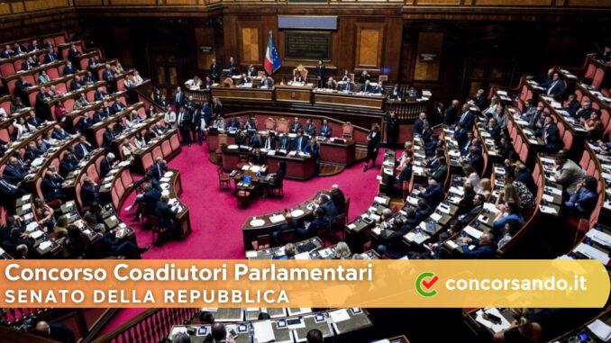 Concorso Coadiutori Parlamentari Senato della Repubblica