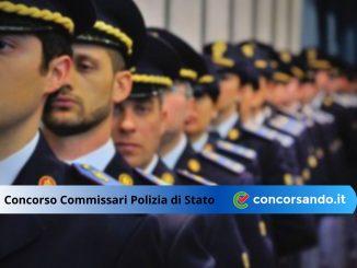 diventare commissario polizia di stato