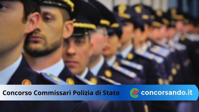 Concorso Commissario Polizia di Stato