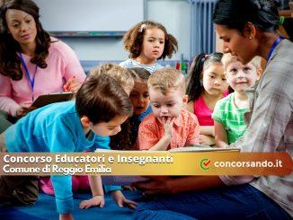 Concorso Educatori e Insegnanti Comune di Reggio Emilia