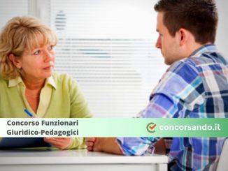 Concorso Funzionari Giuridico-Pedagogici