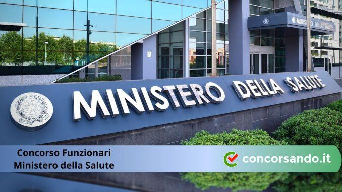 Concorso Funzionari Ministero della Salute