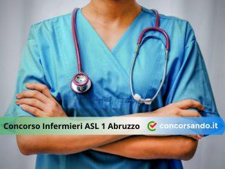 Concorso Infermieri ASL 1 Abruzzo