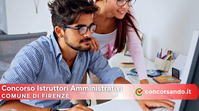 Concorso Istruttori Amministrativi Comune di Firenze
