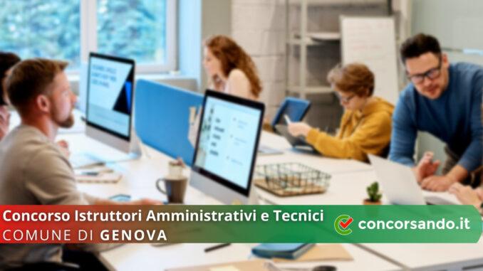 Concorso Istruttori Comune di Genova