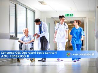 Concorso OSS Operatori Socio Sanitari AOU Federico II