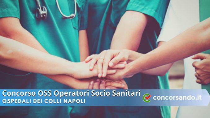 Concorso OSS Ospedali dei Colli Napoli