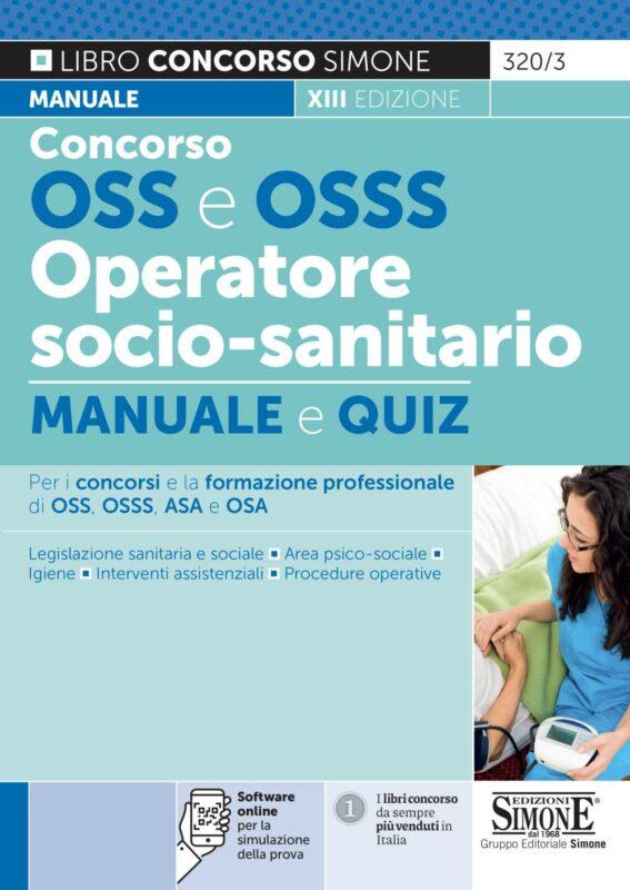 Concorso OSS e OSSS Operatore Socio-Sanitario – Manuale e quiz