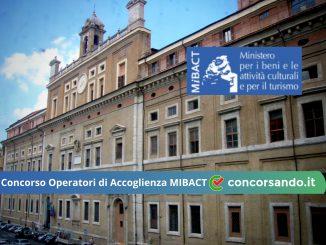 Concorso Operatori di Accoglienza MIBACT