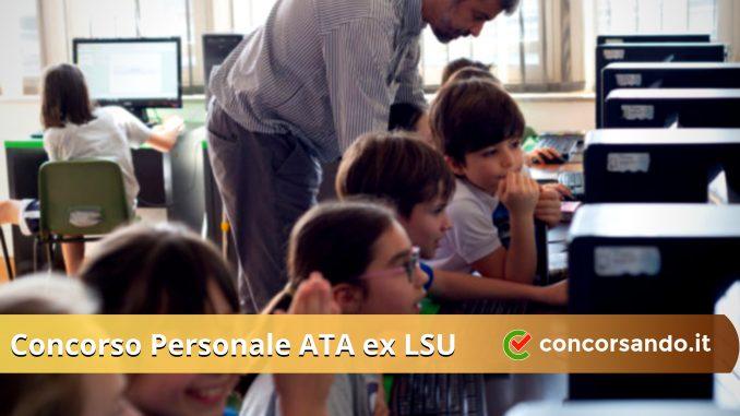 Concorso Personale ATA ex LSU