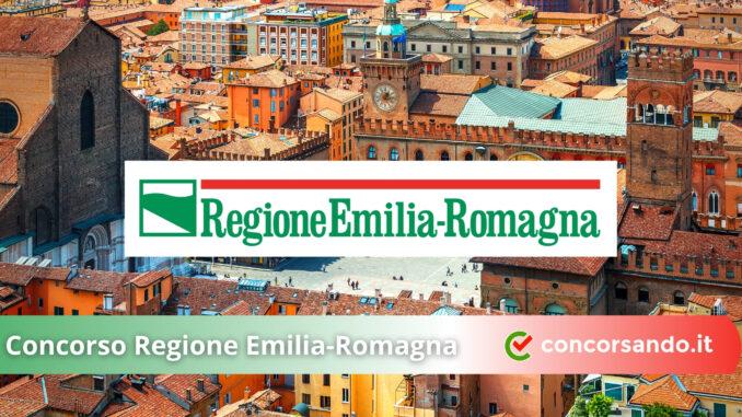 Concorso Regione Emilia-Romagna