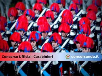 Concorso Ufficiali Carabinieri