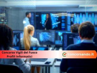Concorso Vigili del Fuoco Profili Informatici