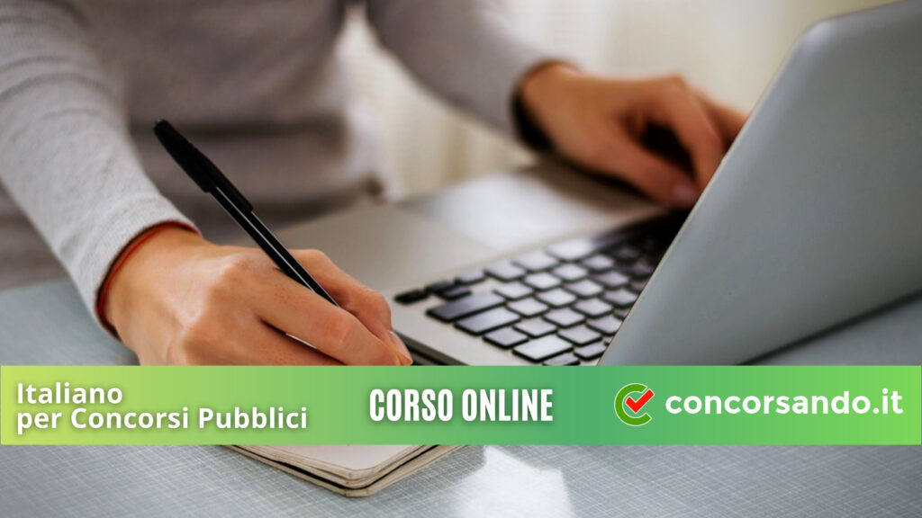 4K Corso Online Italiano per Concorsi Pubblici