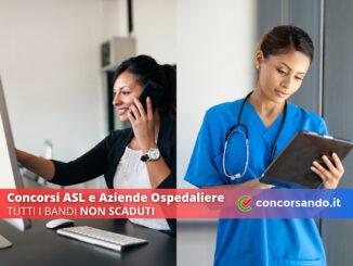 Concorsi ASL e Aziende Ospedaliere