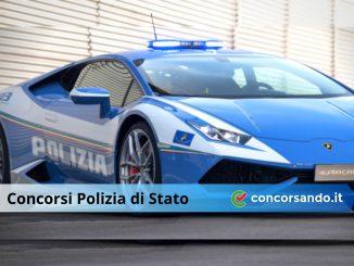 entrare nella Polizia di Stato