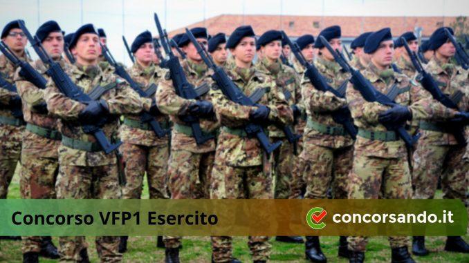Diventare VFP1 Esercito