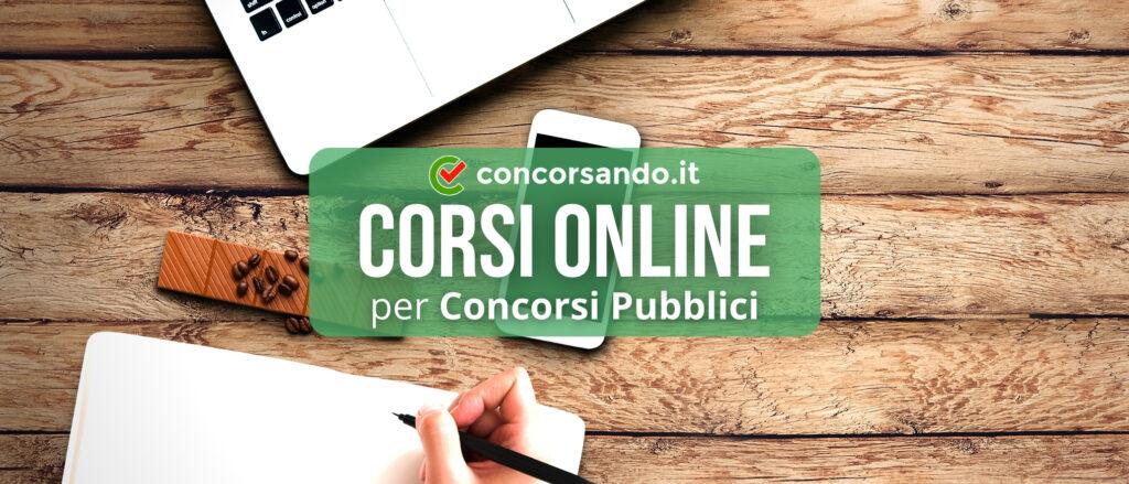 Corsi Online per Concorsi Pubblici – Copertina