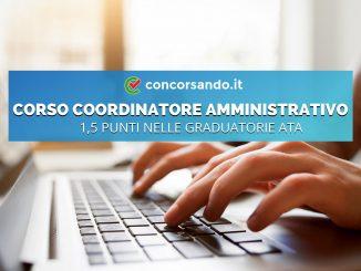 Corso Coordinatore Amministrativo Online Graduatorie ATA