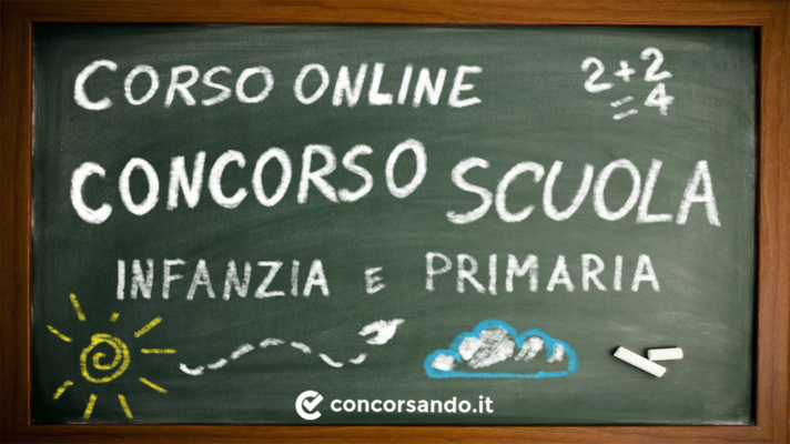 Corso Online Concorso Infanzia e Primaria