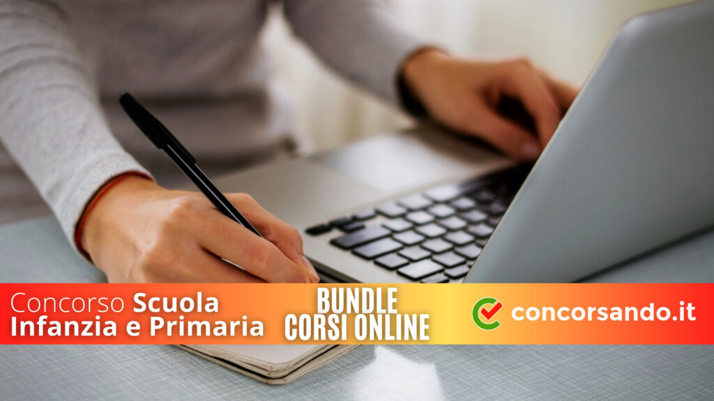 Corso Online Scuola Infanzia e Primaria