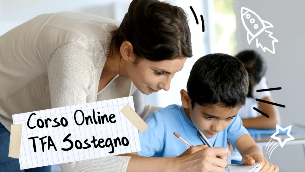 Corso Online TFA Sostegno