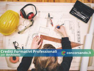 Crediti Formativi Professionali per Architetti